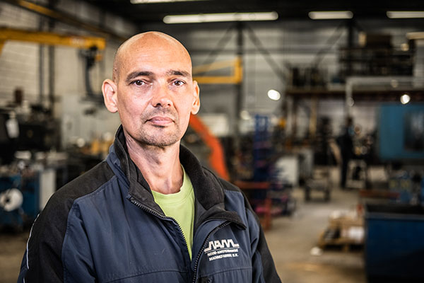 Mark Hegberg - NAM - Noord-Amsterdamse Machinefabriek